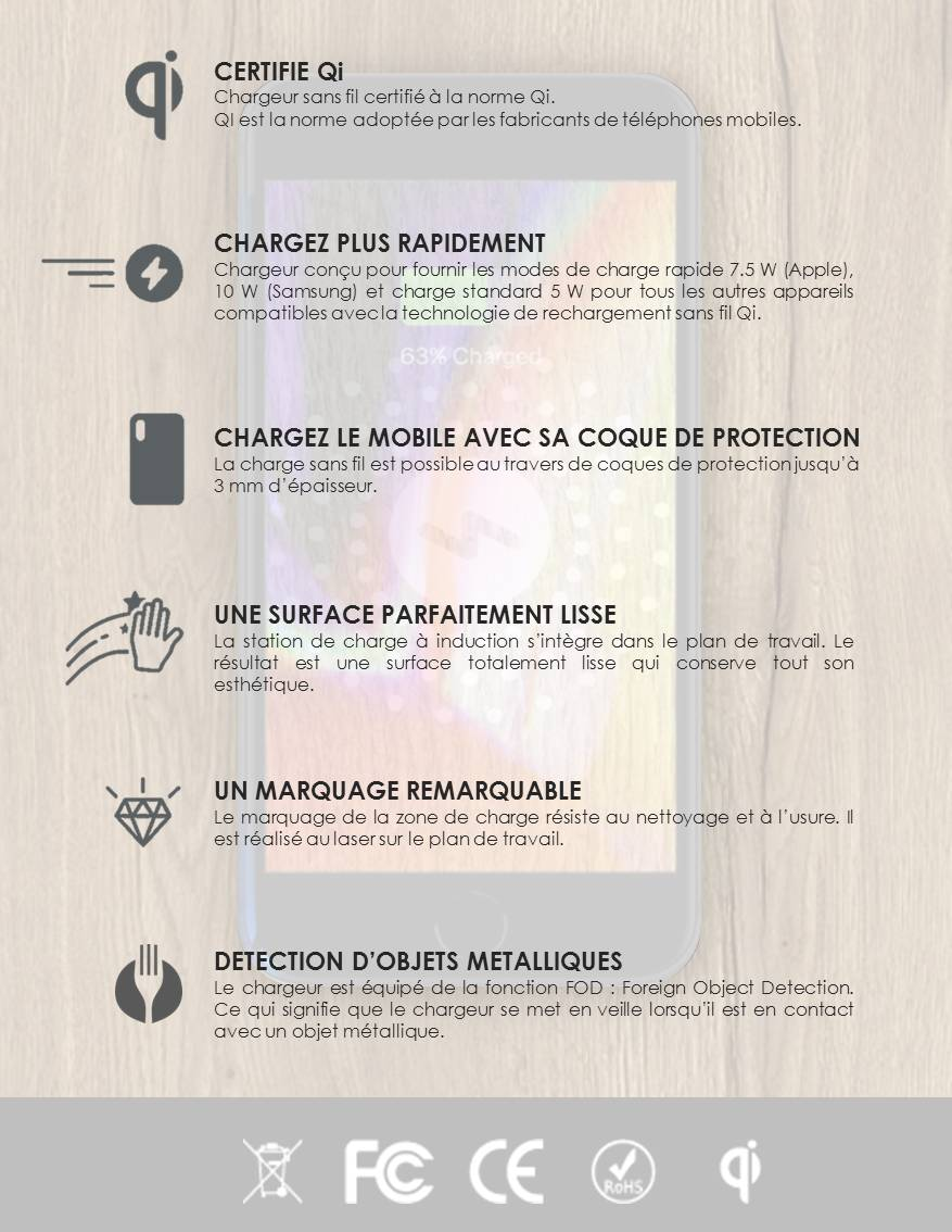 chargeur à induction